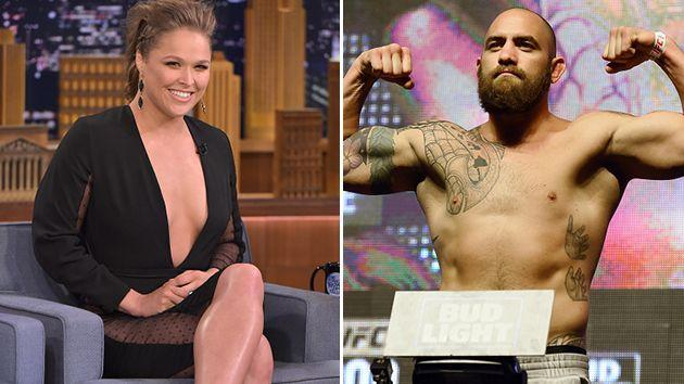 Rousey and Browne. Image: Getty