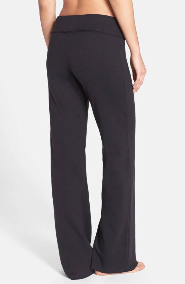 Nordstrom Lingerie Lazy Mornings Lounge Pants in Black