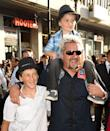 <p>Guy Fieri managed to build an empire thanks to his hit show <em>Drive-Ins, Diners, and Dives. </em>For this show, he took his family along for the ride. Cute is an understatement.</p>