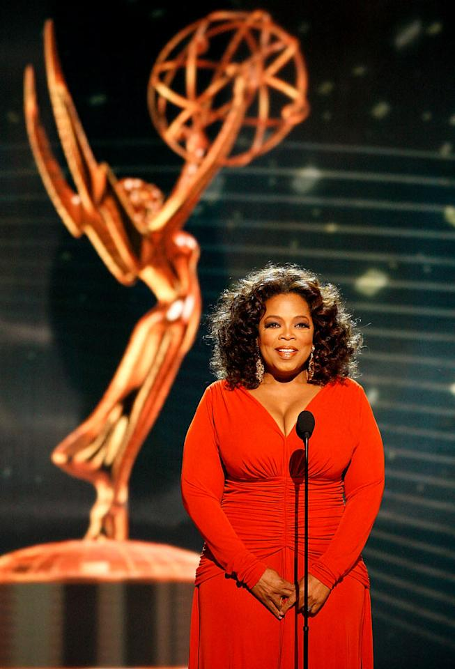 """""""Ladies and gentlemen, Oprah Winfrey!"""" Ms. Winfrey's opening of the 60th Annual Primetime Emmy Awards set the bar pretty high."""