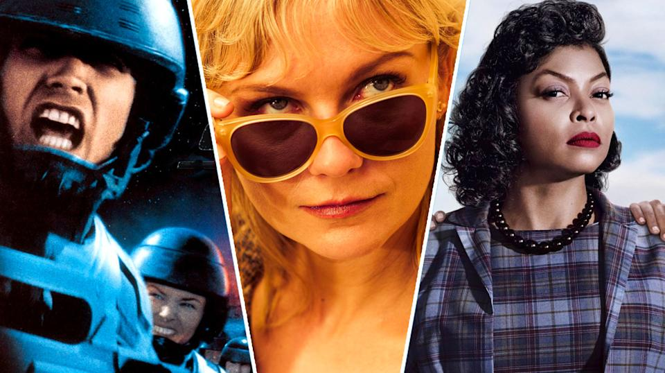 Starship Troopers, Two Faces of January, Hidden Figures.
