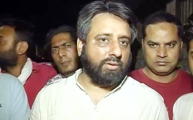 Amanatullah Khan resigns from AAP's PAC, says Kumar Vishwas a BJP-RSS worker