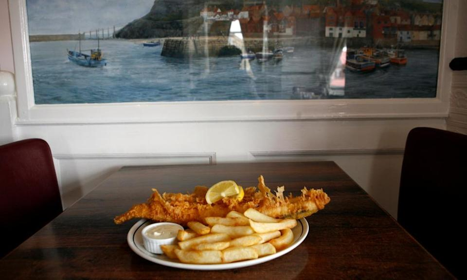 The Magpie Cafe in Whitby, North Yorkshire. Fish and Chips ofm best value list