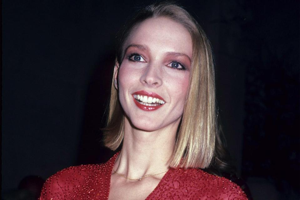 <p>Supermodel Karen Bjornson got her start as a Halstonette, modeling some of the designer's most iconic collections. She even famously rocked one of his looks on the cover of <em>Cosmopolitan. </em>Sietzka Rose portrays her in the series as part of the Halston entourage.</p>