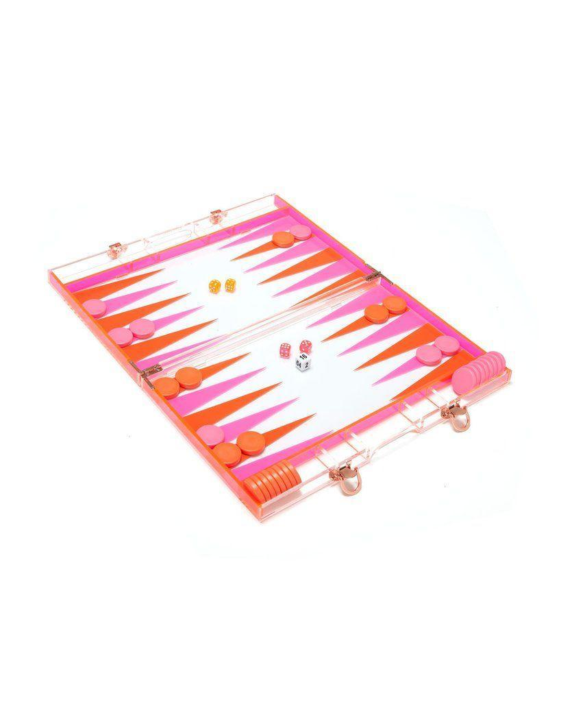 "<p><strong>The Gift: Backgammon Set</strong><br>This stylish acrylic backgammon set is ready to serve you as a decor piece by day and competitive couples game by night.</p> <br> <br> <strong>Sunnylife</strong> Backgammon Game, $140, available at <a href=""https://www.bando.com/products/backgammon-game"" rel=""nofollow noopener"" target=""_blank"" data-ylk=""slk:Bando"" class=""link rapid-noclick-resp"">Bando</a>"