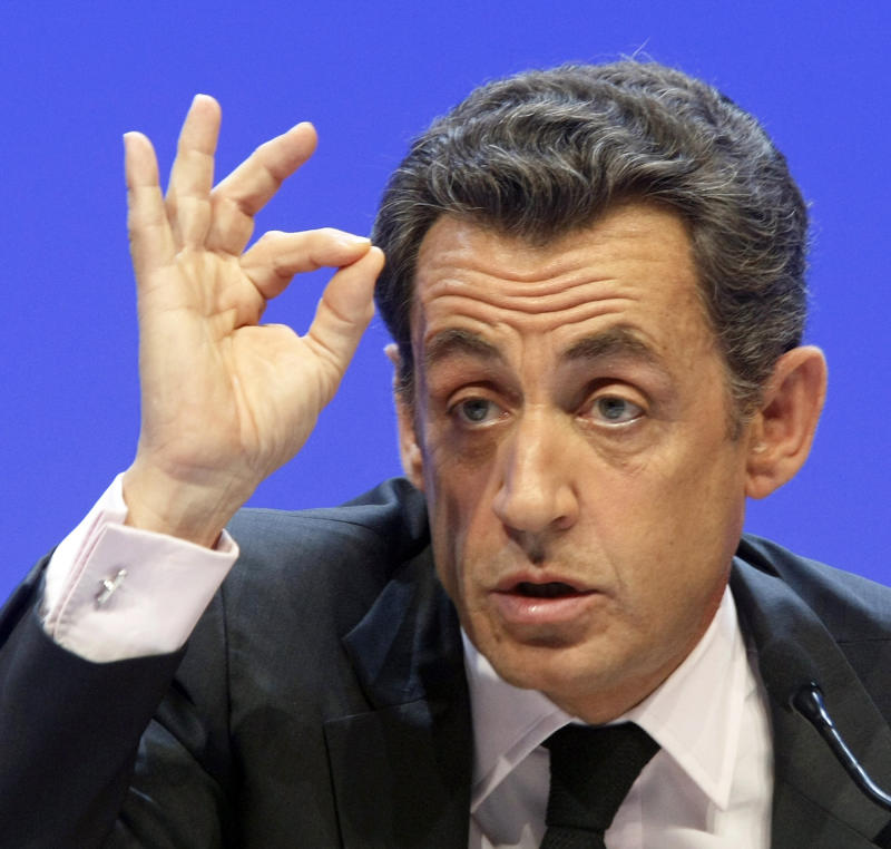 France's Sarkozy: Claim against him is unfounded