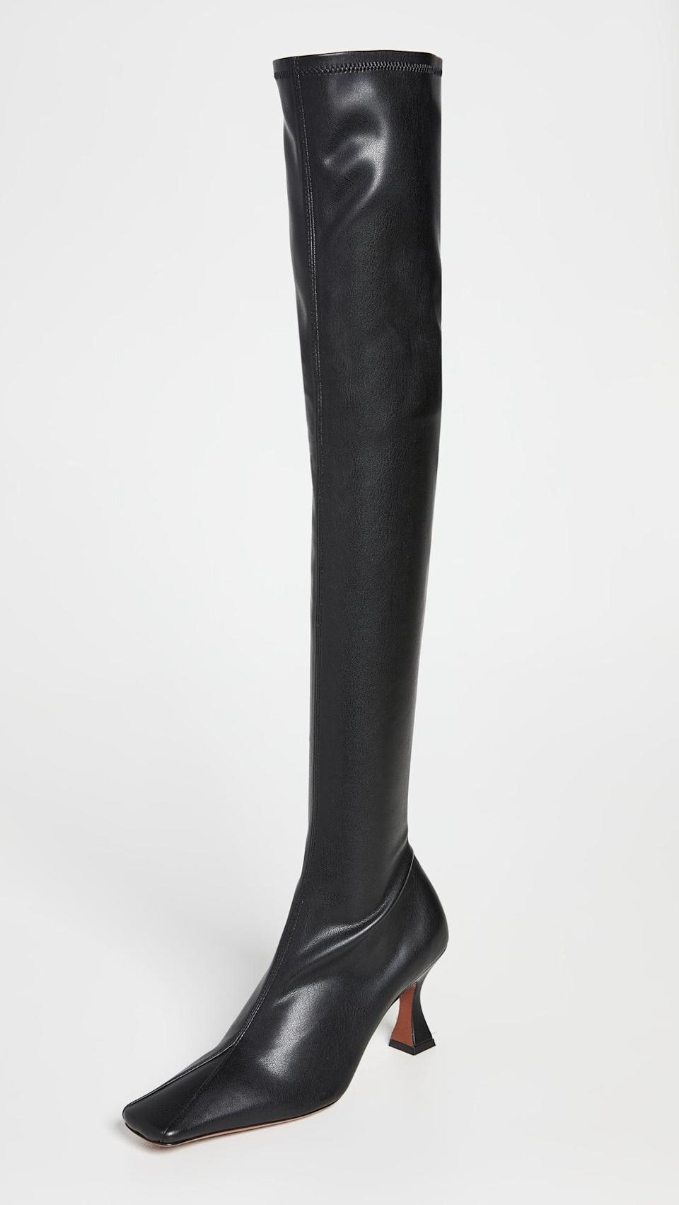 <p><span>MANU Atelier Over The Knee Duck Boots</span> ($685) </p>
