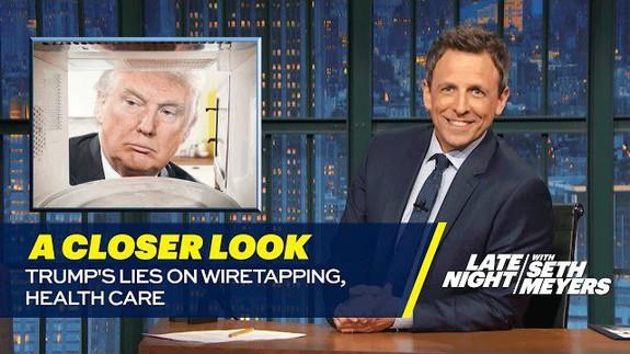 Image result for seth meyers healthcare con