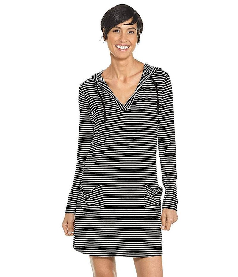 Coolibar UPF 50+ Women's Beach Cover-Up Dress (Photo: Amazon)
