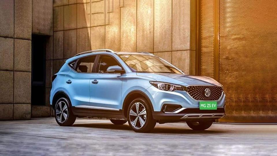 MG ZS EV now available at Rs. 50,000 per month