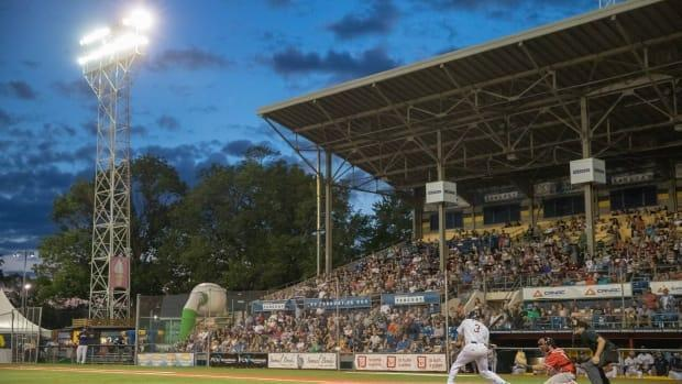 For the second straight year, the Quebec Capitales won't be playing baseball in Quebec City due to the pandemic. (Guillaume Croteau-Langevin/Radio-Canada - image credit)