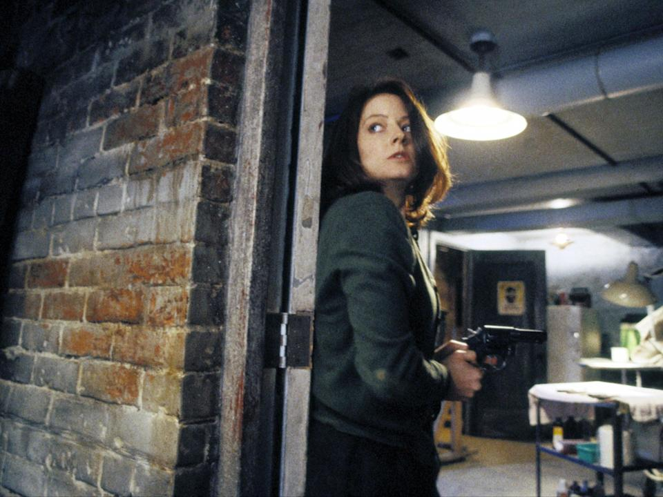 Jodie Foster in 'The Silence of the Lambs'Orion/Kobal/Shutterstock