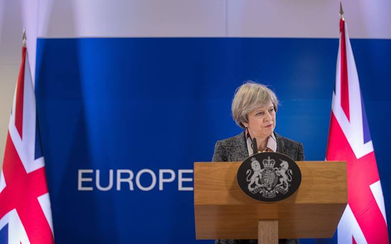 Theresa May - Credit: Jasper Juinen/Bloomberg