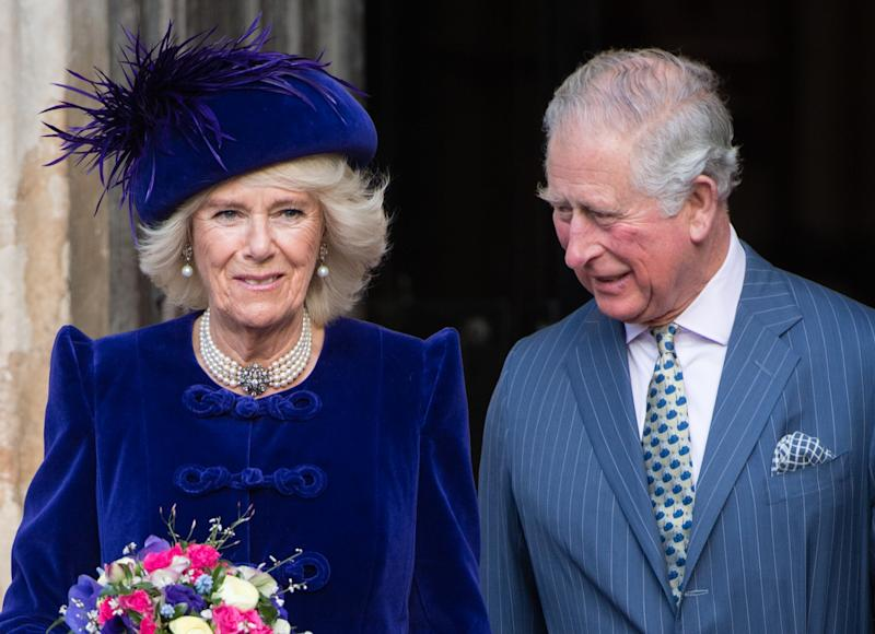 LONDON, ENGLAND - MARCH 11: Prince Charles, Prince of Wales and Camilla, Duchess of Cornwall attend the Commonwealth Day service at Westminster Abbey on March 11, 2019 in London, England. (Photo by Samir Hussein/Samir Hussein/WireImage)