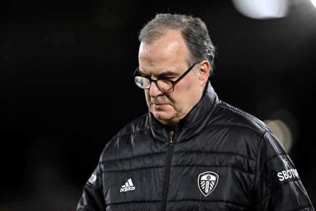 Bielsa was giving little away on who will replace Harrison in Leeds' starting line-up