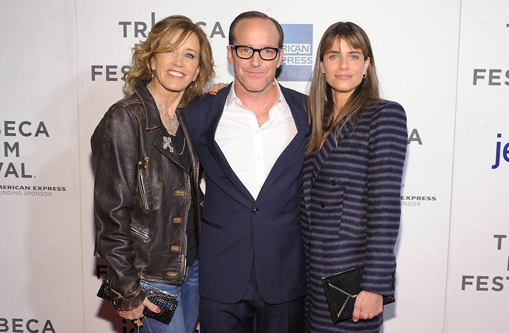 "NEW YORK, NY - APRIL 20:  Actors Felicity Huffman, Clark Gregg and Amanda Peet attends the ""Trust Me"" world premiere during the 2013 Tribeca Film Festival on April 20, 2013 in New York City.  (Photo by Michael Loccisano/Getty Images for Tribeca Film Festival)"