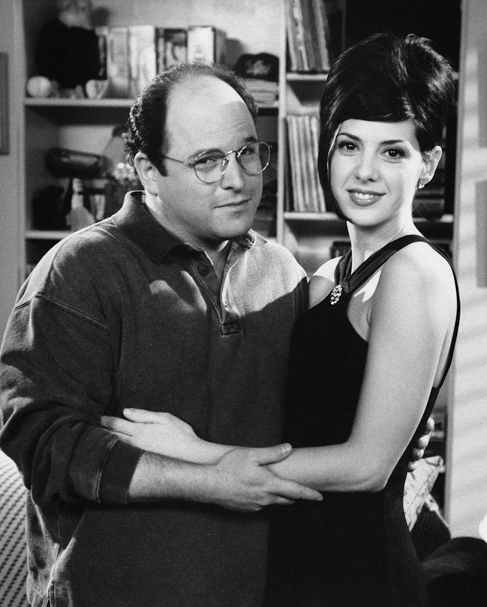<p>The cast's many relationships throughout the series made the show rife for guest appearances. In season 7, Marisa Tomei was a love interest for George and played herself. </p>