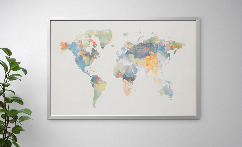 IKEA apologizes for selling map that's missing New Zealand on kroger cincinnati map, ikea cincinnati address, metro cincinnati map, ikea cincinnati hotels,
