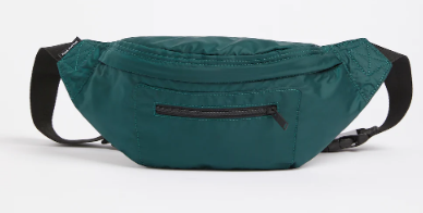 The Hub Crossbody Bag in Dark green