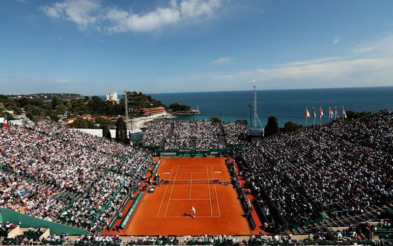 There are few more picturesque tennis tournaments than the Monte Carlo Masters - Getty Images