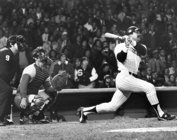 """<p><strong>October 18, 1977</strong>: """"Any moment that can create a nickname is amazing,"""" says Richard Puerzer, a member of the Society for American Baseball Research. It was during Game 6 of the 1977 World Series that Reggie Jackson got his. In the fourth inning, Jackson hit the first pitch he saw from Dodgers starter Burt Hooten into the right field seats. In the fifth, Jackson lined reliever Elias Sosa's first offering to about the same spot. And in the eighth, Jackson smacked Charlie Hough's first pitch, a knuckleball, 475 feet into dead center field.<br> </p>"""