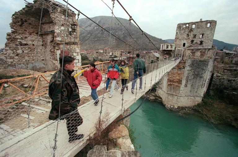Bosnian Croat wartime leader Jadranko Prlic's war crimes conviction stems in part from the siege of the Bosnian town of Mostar, whose historic bridge was destroyed