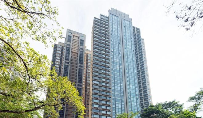 Heidi Wong's flat in Hong Kong's Mid-Levels neighbourhood was secretly running a prostitution business worth millions for nearly a decade. Photo: Google
