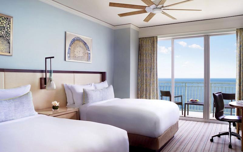 The Ritz-Carlton Key Biscayne offers an expansive retreat perfect for a family holiday
