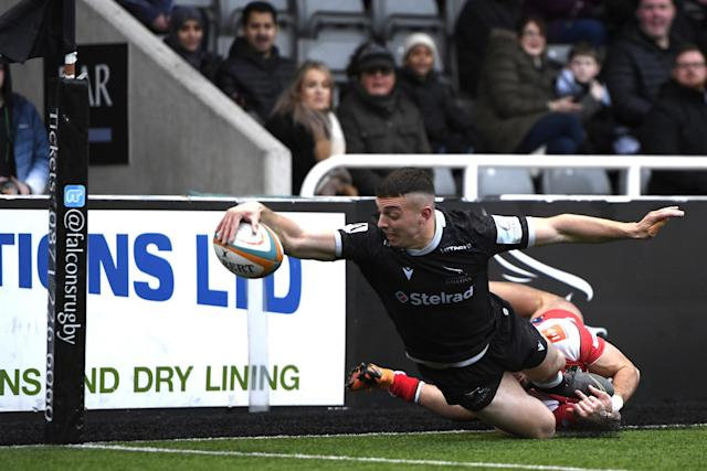 Newcastle Falcons are currently on track for a return to the top-flight (Getty Images)
