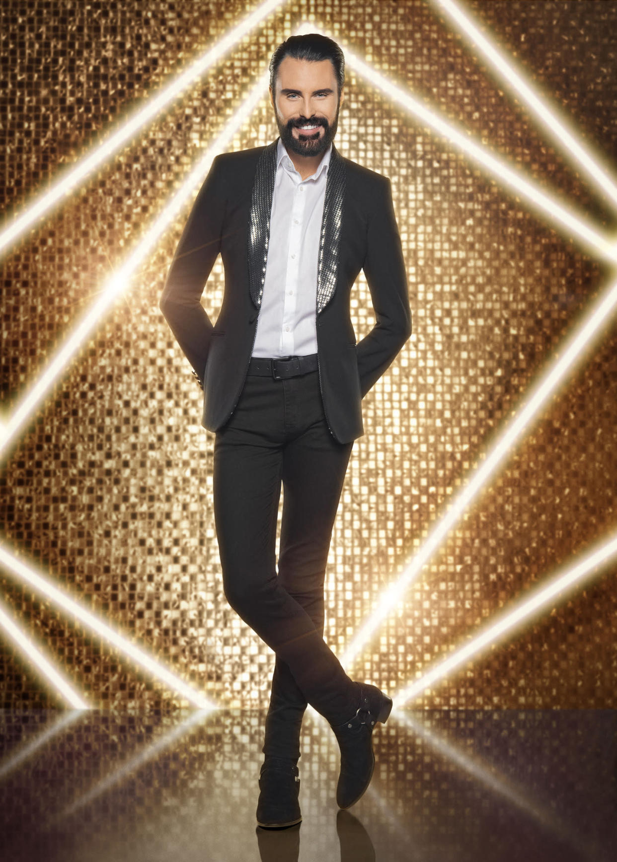 WARNING: Embargoed for publication until 00:00:01 on 21/09/2021 - Programme Name: It Takes Two 2021 - TX: 27/09/2021 - Episode: Generics (No. n/a) - Picture Shows:  Rylan - (C) BBC - Photographer: Ray Burmiston
