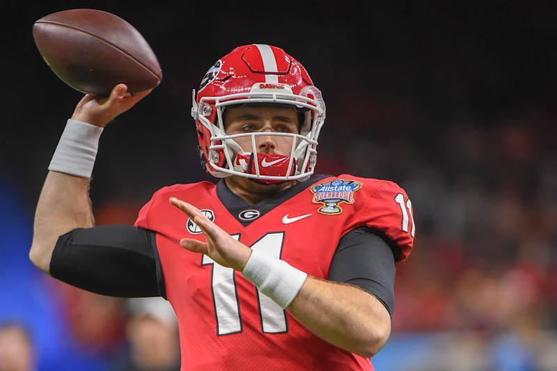 Georgia QB Jake Fromm might be the safest 2020 QB prospect, but can he be special? Getty Images)