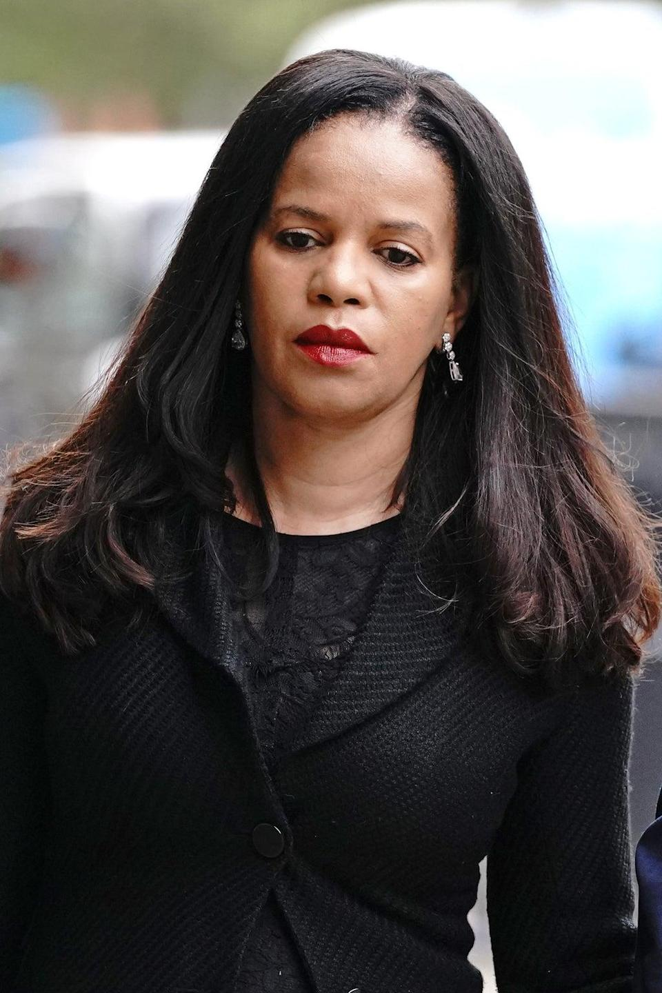 MP Claudia Webbe arrives at Westminster Magistrates' Court (.Jonathan Brady/PA) (PA Wire)