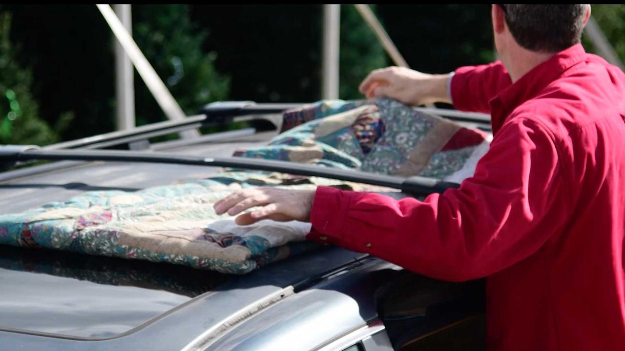 """<p>Even if you have a roof rack for tying up the tree throw an old blanket or some towels underneath it before putting the evergreen up there. The branches can potentially scratch the paint, and it may leak sap. This is a simple way to prevent damaging the vehicle's paint.</p><h2>Rockin' around the Christmas tree:</h2><ul><li><a href=""""https://uk.motor1.com/news/298182/lotus-merry-driftsmas-video/?utm_campaign=yahoo-feed"""">How to transport a Christmas tree with a Lotus Evora</a></li><br><li><a href=""""https://uk.motor1.com/news/284171/fiat-christmas-tree-survey/?utm_campaign=yahoo-feed"""">Driving with a Christmas tree could land you an unwanted gift</a></li><br></ul>"""