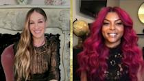 "The unveiling of the nominations -- remotely co-hosted by ""Sex and the City"" star Sarah Jessica Parker and Taraji P Henson -- whittled down the list of films and stars headed for the Golden Globes ceremony"
