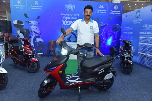 Avan Motors Claims That The Trend E Offers High Performance Along With State Of Art Equipment Scooter Also Comes A Stylish Design