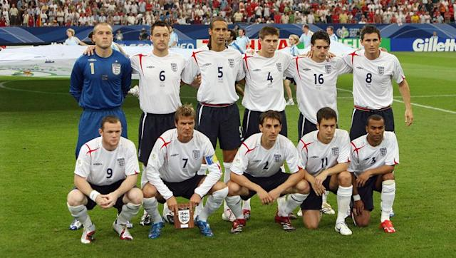 <p>England headed into the 2006 World Cup full of confidence after finishing top of their qualification group. They secured qualification after a 2-1 win over Poland with this team: </p> <br><p>Paul Robinson, Luke Young, Rio Ferdinand, John Terry, Jamie Carragher, Shaun Wright-Phillips, Ledley King, Frank Lampard, Joe Cole, Wayne Rooney and Michael Owen.</p> <br><p>England kicked off their World Cup campaign with a 1-0 win over Paraguay, and made five changes to the side who ended their qualification campaign. </p> <br><p>Out came Young, Carragher, Wright-Phillips, King and Rooney, and in came Gary Neville, Ashley Cole, David Beckham, Steven Gerrard and Peter Crouch.</p> <br><p>It would become a repeat of Euro 2004 for England, as they were against beaten on penalties in the quarter-finals by Portugal. </p>