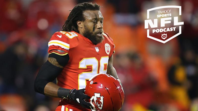 The Kansas City Chiefs releasing safety Eric Berry surprised many in the league including Berry and some of his suitors, reports Charles Robinson on the Yahoo Sports NFL Podcast. (Photo by Scott Winters/Icon Sportswire via Getty Images)