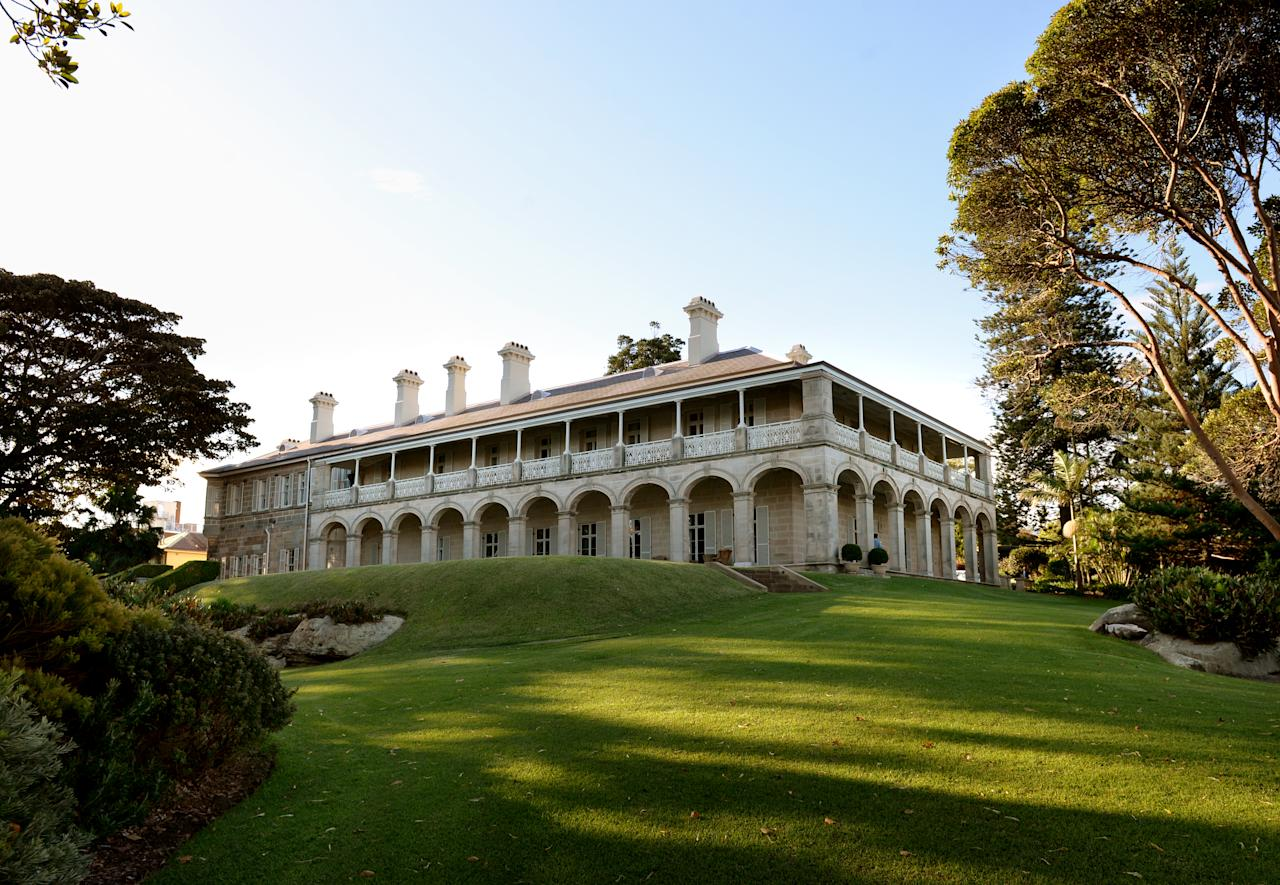 <p>The building was once the official residence for royal naval commanders. Photo: Getty </p>