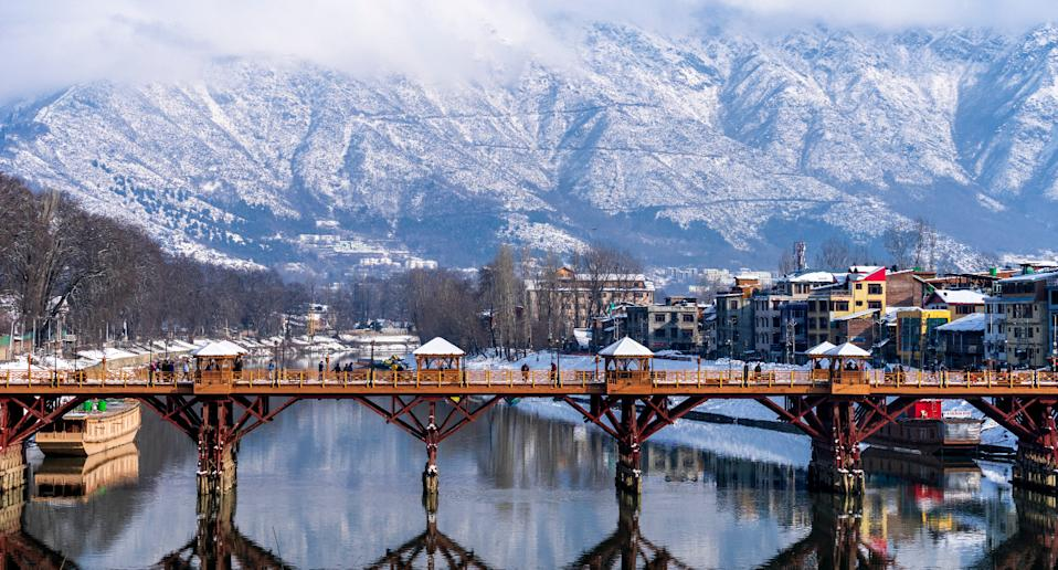 The beautiful city of Srinagar. Image used for representational purpose only. Photo: Getty Images