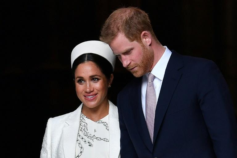 Britain's Prince Harry and his wife Meghan granted a no-holds-barred interview to US television host Oprah Winfrey
