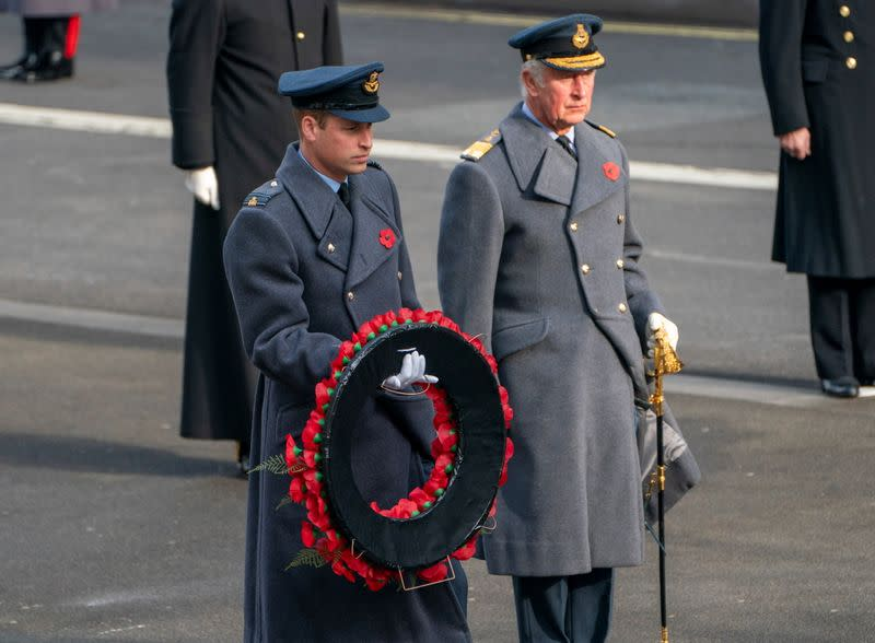 National Service of Remembrance at Cenotaph in London