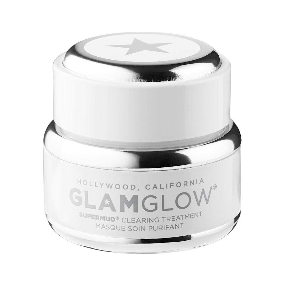 <p>This <span>GlamGlow Supermud Clearing Treatment</span> ($25) comes in the cutest little packaging, making it an ideal stocking stuffer. Plus, this clears pores like you've never seen.</p>