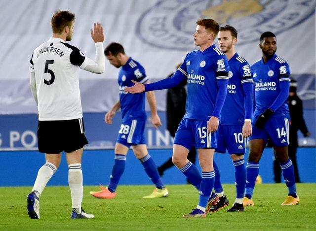 Fulham claimed a surprise win over Leicester on Monday