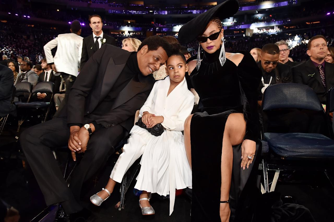 "<p>Blue <a href=""https://www.popsugar.com/entertainment/blue-ivy-carter-bet-awards-nomination-2020-47551463"" class=""ga-track"" data-ga-category=""Related"" data-ga-label=""https://www.popsugar.com/entertainment/blue-ivy-carter-bet-awards-nomination-2020-47551463"" data-ga-action=""In-Line Links"">nabbed her first-ever BET Award nomination</a> for being featured on her mom Beyoncé's song ""Brown Skin Girl."" Just like Bey, the 8-year-old loves to wear statement pieces.</p>"