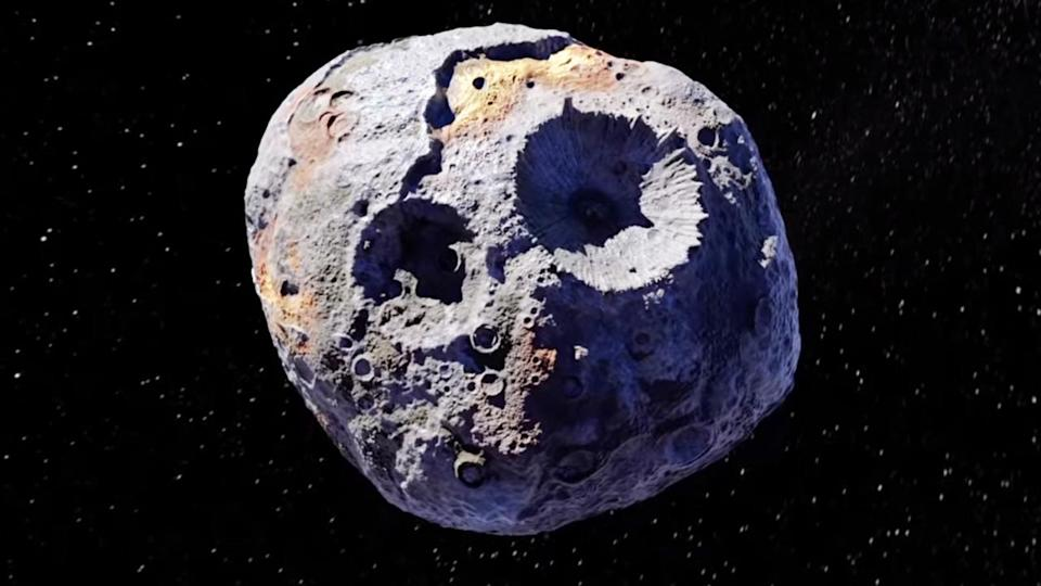 Hubble reveals Psyche, an asteroid worth $10 quintillion, may be corroding