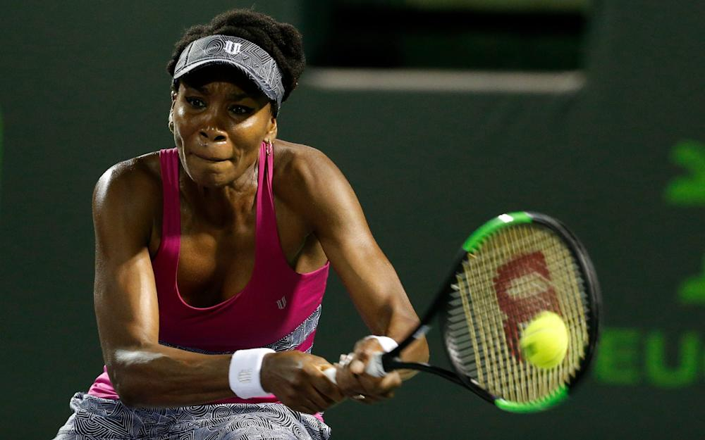 Venus Williams - Credit: EPA