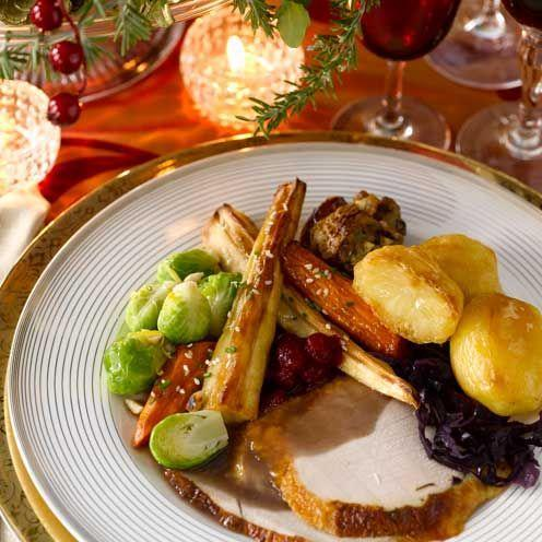 "<p>A spectacular roast turkey recipe perfect for Christmas Day</p><p><strong>Recipe: <a href=""https://www.goodhousekeeping.com/uk/food/recipes/a535861/citrus-and-herb-butter-roast-turkey/"" rel=""nofollow noopener"" target=""_blank"" data-ylk=""slk:Citrus and Herb Butter-roast Turkey"" class=""link rapid-noclick-resp"">Citrus and Herb Butter-roast Turkey</a></strong></p>"