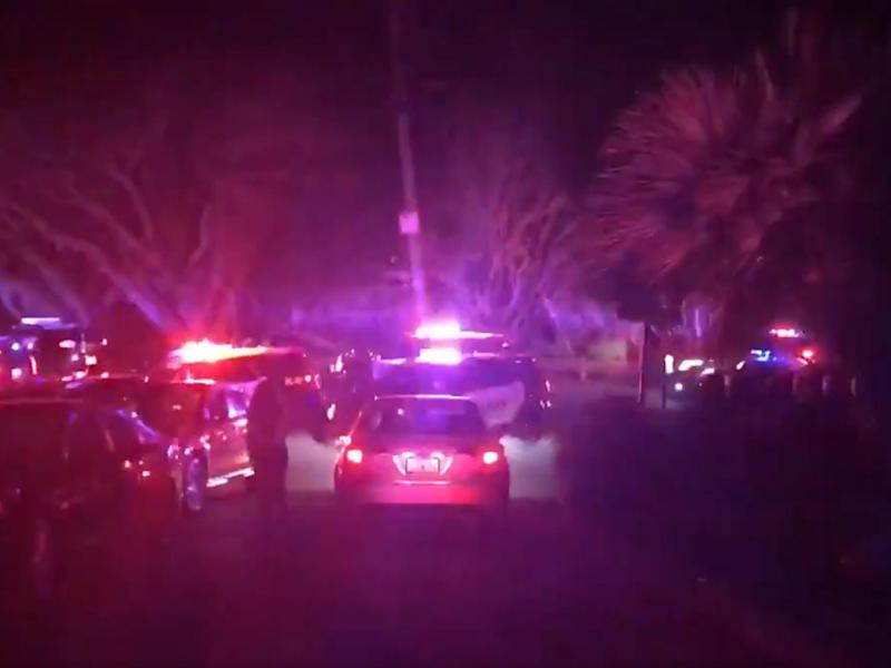 Emergency vehicles at the scene of a 'multiple shooting' in California's Bay Area: @hurd_hurd