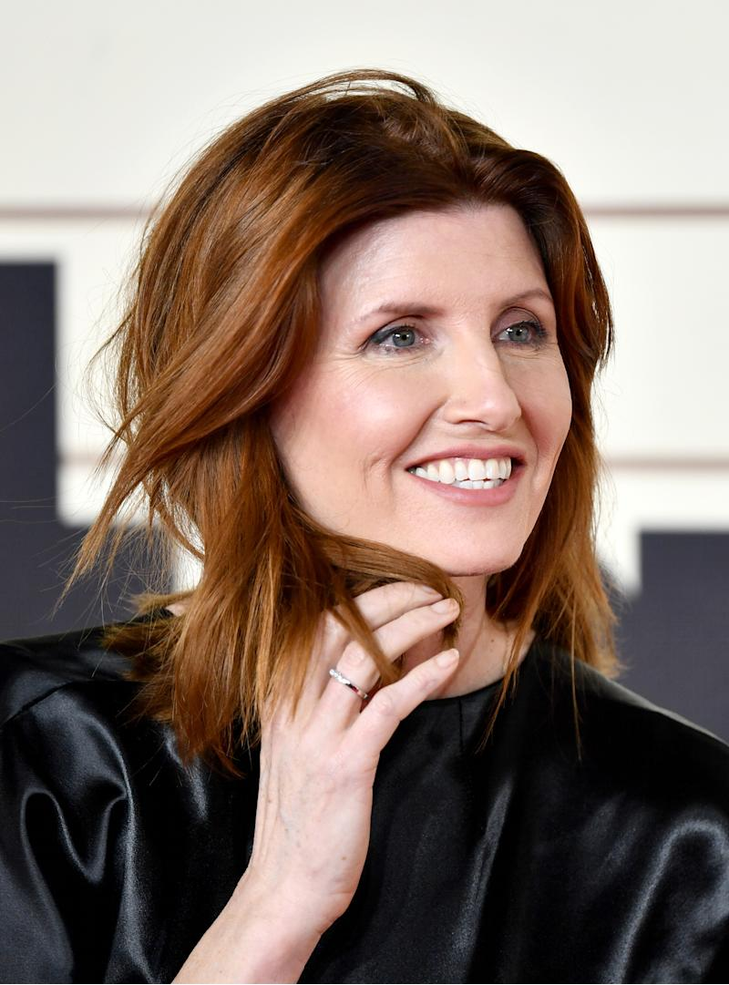 "LONDON, ENGLAND - FEBRUARY 24: Sharon Horgan attends the ""Military Wives"" UK Premiere at Cineworld Leicester Square on February 24, 2020 in London, England. (Photo by Gareth Cattermole/Getty Images)"