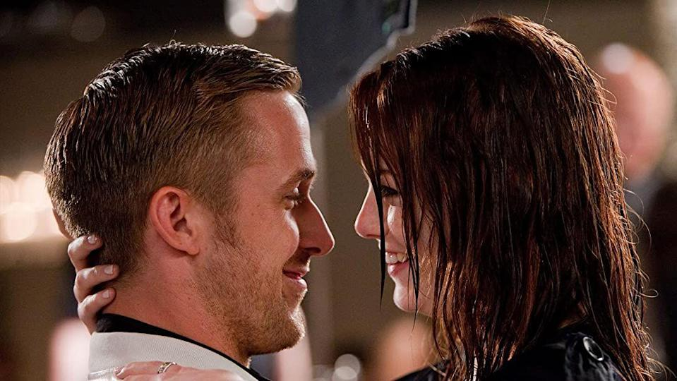 """<p>The title gives away the focus of this charming movie: Yep, <em>Crazy Stupid Love </em>is all about love in its many forms. Written by <em>This Is Us</em>'s Dan Fogelman, the movie intertwines multiple character's love stories (with twists that come in their unexpected connections). The all-star cast consists of Steve Carrell, Ryan Gosling Emma Stone, Julianne Moore, Kevin Bacon—and even Josh Groban. </p><p><a class=""""link rapid-noclick-resp"""" href=""""https://www.netflix.com/watch/70167068?source=35"""" rel=""""nofollow noopener"""" target=""""_blank"""" data-ylk=""""slk:Watch Now"""">Watch Now</a></p>"""